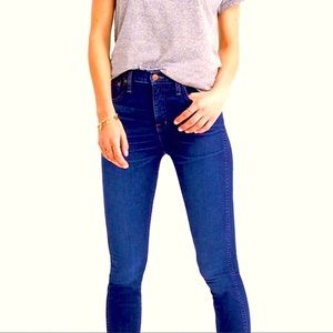 """MADEWELL Skinny 8.5"""" Mid-Rise Jeans"""
